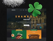 Shamrock Irish Pub Website