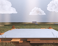 Microsoft Build Conference 3D Stage
