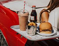 Jukebox Burgers Car Hop - Art Direction