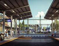 Intermodal Transport Hub, Esztergom