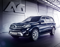 Mercedes-Benz GLS [Armour Group Project]