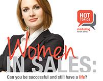 Hot topics: Women in sales