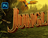 JUNGLE CRUISE PSD TEXT EFFECT