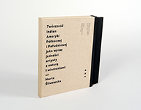 Master thesis — book design