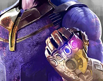 The Mad Titan Thanos