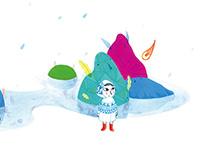 L'Oiseau de la pluie