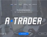 A-TRADER Responsive Website