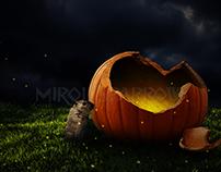 Broken Pumpkin