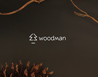 woodman. Package design
