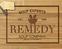 Remedy Soup Company Branding