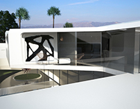 Beverly hills contemporary home - rendering for AA