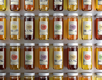 Honey label and packaging design