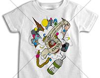 Graphic Cueca T-Shirt