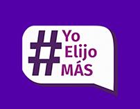 #YoElijoMás