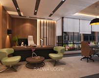 Real-estate corporate interior design modern style