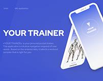 «Your Trainer» App