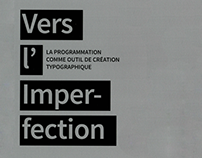 Vers l'imperfection
