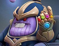 Fan Art Diggy Thanos
