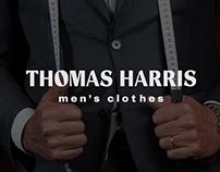 THOMAS HARRIS Men's clothes