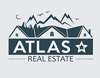 ATLAS Real Estate Logo Concept