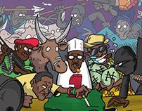 Nigerian Political Cartoon