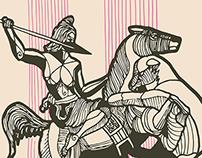 Amazonian Spearwoman, Berlin