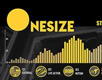 Onesize studio operation infographic