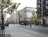 Multifunctional building project | Łódź | Piotrkowska