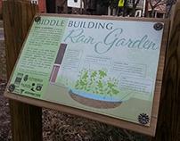 Biddle Building Rain Garden
