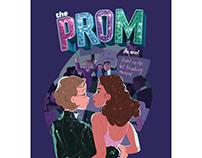 'The Prom' YA novel cover for Penguin Random House