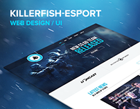 KILLERFISH eSport Web Design 2016