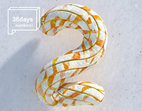 36daysoftype NUMBERS!