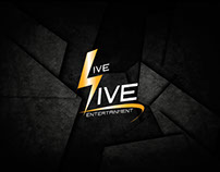 Live Live Entertainment - UI/UX Design