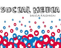 Social Media Drica Fashion.