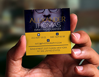 Mini Photographer Business Card