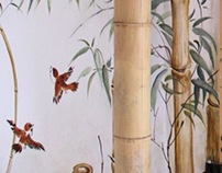 """""""In a Bamboo Grove""""-in a little hall ( Warsaw, Poland )"""