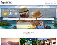 Westgate Cruise & Travel  (Kayak style redesign)