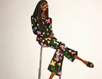 Chic Pose Series : Kelly Rowland