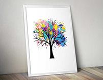 Splash Tree - Splash ART project