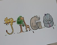 "Children's ""Name"" Illustrations"