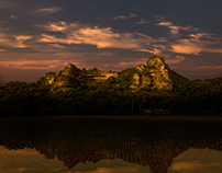 Old Rakan is the temple of Arhat in Japan