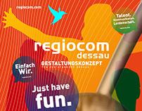 Regiocom Gestaltungskonzept