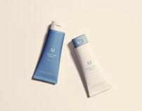 Cosmetics Tubes Mockup
