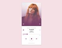 Daily UI #009 | Music Player