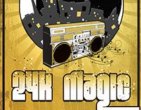 Poster Design - 24k Magic Debut