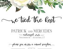 Bridal Shower/Wedding Announcement