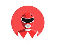 Round Icons VI: Mighty Morphin Power Rangers