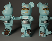Coffee Bear Modelling