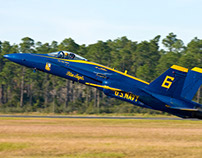US Navy Blue Angels Returning to North Carolina