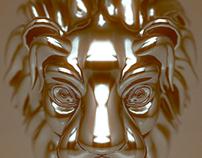 3D Jewelry - Leo Pendant